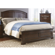 Liberty Furniture Avington Queen Panel Bed in Dark Cognac 172-BR-QPB