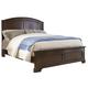 Liberty Furniture Avington King Panel Bed in Dark Cognac 172-BR-KPB