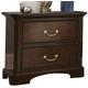 Liberty Furniture Avington 2 Drawer Nightstand in Dark Cognac 172-BR61