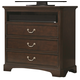 Liberty Furniture Avington Media Chest in Dark Cognac 172-BR45