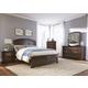 Liberty Furniture Avington 4-Piece Panel Bedroom Set in Dark Cognac