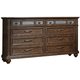 Liberty Furniture Coronado 8 Drawer Dresser in Tobacco 562-BR31