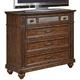 Liberty Furniture Coronado Media Chest in Tobacco 562-BR45