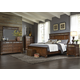 Liberty Furniture Coronado 4-Piece Panel Bedroom Set in Tobacco