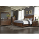 Liberty Furniture Coronado 4-Piece Storage Bedroom Set in Tobacco