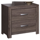 New Classic District 7 Nightstand in Ash 3D Paper B1444-040
