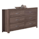 New Classic District 7 Dresser in Ash 3D Paper B1444-050