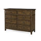 A.R.T Furniture Echo Park Double Dresser in Mocha 212132-2016