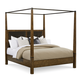 A.R.T Furniture Echo Park Queen Poster Bed with Canopy in Mocha