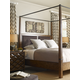 A.R.T Furniture Echo Park 4-Piece Poster with Canopy Bedroom Set in Mocha