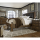 A.R.T Furniture Echo Park 4-Piece Poster Bedroom Set in Mocha