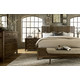 A.R.T Furniture Echo Park 4-Piece Shelter Bedroom Set in Mocha
