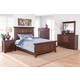 New Classic Kittredge 4-Piece Bedroom Set in Ranchero Distressed