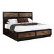 New Classic Makeeda King Storage Bed in Rustic