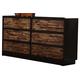 New Classic Makeeda Dresser in Rustic B3105-050
