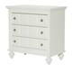 American Drew Lynn Haven Bachelor Chest in Dover White 416-422