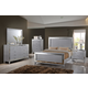 New Classic Valentino 4-Piece Storage Bedroom Set in Rustic