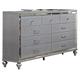 New Classic Valentino Dresser in Silver B9698-050