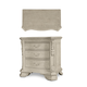 A.R.T Furniture Renaissance Beside Chest in Dove Grey 243148-2617