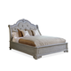 A.R.T Furniture Renaissance King Upholstered Sleigh Bed in Dove Grey 243126-2617