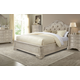 A.R.T Furniture Renaissance 4-Piece Upholstered Sleigh Bedroom Set in Dove Grey