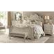 A.R.T Furniture Renaissance 4-Piece Estate Bedroom Set in Dove Grey