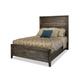 Durham Furniture Distillery Queen Panel Bed in Trenton Grey 401-124T