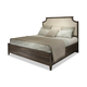 Durham Furniture Distillery King Upholstered Bed in Trenton Grey 401-145T