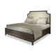 Durham Furniture Distillery Queen Upholstered Bed in Trenton Grey 401-125T