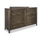 Durham Furniture Distillery 8 Drawer Dresser in Trenton Grey 401-174T