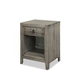 Durham Furniture Distillery Nightstand in Trenton Grey 401-201T