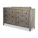 Durham Furniture Distillery Double Dresser in Whiskey 401-172W