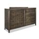 Durham Furniture Distillery 8 Drawer Dresser in Whiskey 401-174W