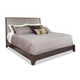 Durham Furniture Front Street Queen Upholstered Bed in Smoke 151-125