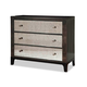 Durham Furniture Front Street Bachelor's Chest w/ Mirror Drawer Front in Smoke 151-166M