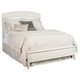 American Drew Siesta Sands Queen Low Profile Bed in White 508-333R