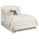 American Drew Siesta Sands King Low Profile Bed in White 508-336R