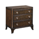 American Drew Grantham Hall 3 Drawer Nightstand in Cherry 512-420