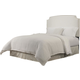 Republic Grosvenor Upholstered Queen-Full Headboard in White 10112