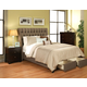 Seahawk Designs Cambridge Complete 2 Drawer Cal King Bed in Char-Brown 21502