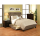 Seahawk Designs Cambridge Complete 4 Drawer Cal King Bed in Char-Brown 21602