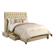 Seahawk Designs Cambridge Complete 4 Drawer King Bed in Wheat 22601