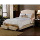 Seahawk Designs Newport Two-Drawer King Bed in Wheat 42501