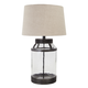 Shanika Glass Table Lamp in Transparent L430034