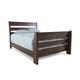 Emerfield King Sleigh Bed in Rustic Brown B653-KS