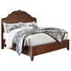 Balinder California King Sleigh Bed in Medium Brown B708-CKS