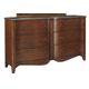 Balinder 6 Drawer Dresser in Medium Brown B708-93
