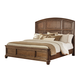 Maeleen Queen Panel Bed in Medium Brown B709-QP