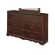Naralyn Dresser in Reddish Brown B164-31