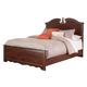Naralyn Queen Panel Bed in Reddish Brown